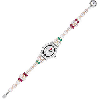 Sri Jagdamba Pearls Fairy Pearl Watch