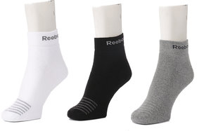 R Cushioned Ankle Socks - Pack of 3