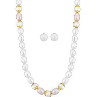 Sri Jagdamba Pearls Charming Pearl Set