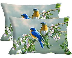 Fire Plant BUY 1 GET 1 Digitally Printed Pillow Cover -Size(12x18)