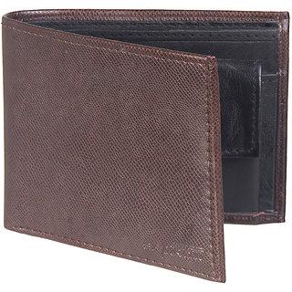 SPAIROW Mens Wallet-105(Brown-Black)