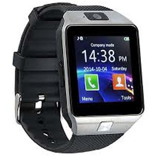 G-MTIN Bluetooth Smart Watch With Camera Sim Card Support for Android/iOS Devices (Gold)