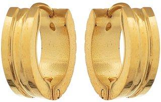 Gold Plated Mens Bali Party Wear Earrings
