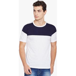 Stylogue Men'S White Round Neck T-Shirt