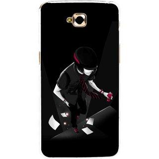 Snooky Printed Hep Boy Mobile Back Cover For Lg G Pro Lite - Black
