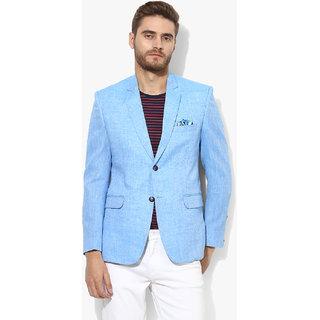 574d4102be3 Buy Hangup Men s Blue Blazer Online - Get 76% Off
