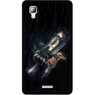 more photos eb5a0 fcf32 Snooky Printed The Thor Mobile Back Cover For Micromax Canvas Doodle 3 A102  - Black