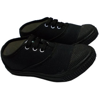 Buy Adonis Tennis Shoes Black School Shoes For Girls (Size - UK 3 ... fea1b3bc7