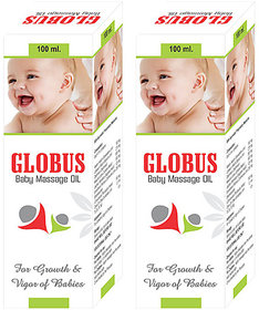 Globus BABY MASSAGE OIL (Pack of 2)