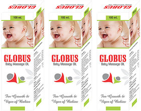Globus BABY MASSAGE OIL (Pack of 3)
