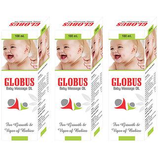 Globus BABY MASSAGE OIL (Pack of 3)