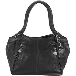 Sellebrity Black Plain Handbag