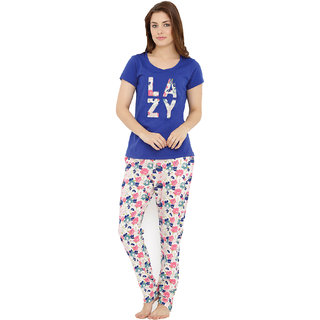 Lazy T-Shirt Pyjama Set