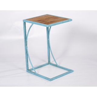 WD/Iron Side Table