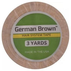 Walker Tape German Brown Hair System tape 1 inch 3 Yards Roll Double Sided Adhesive Tape