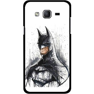 Snooky Printed Angry Batman Mobile Back Cover For Samsung Galaxy On5 - Multicolour