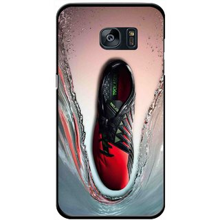 Snooky Printed Water Mobile Back Cover For Samsung Galaxy S7 - Multicolour