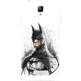 Snooky Printed Angry Batman Mobile Back Cover For Oppo Neo 3 R831k - Multicolour