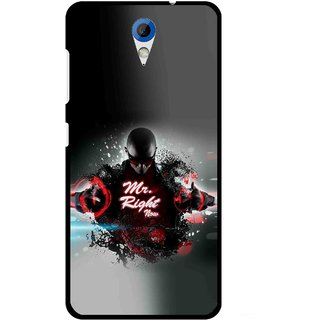 Snooky Printed Mr.Right Mobile Back Cover For HTC Desire 620 - Multicolour