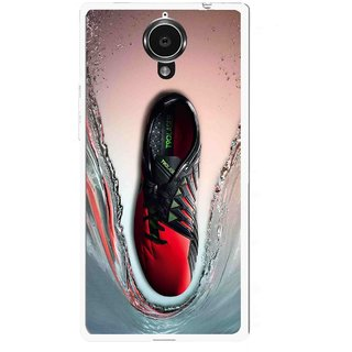 Snooky Printed Water Mobile Back Cover For Gionee Elife E7 - Multicolour