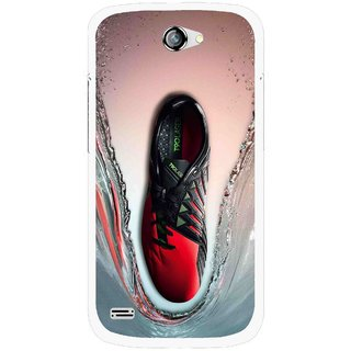 Snooky Printed Water Mobile Back Cover For Gionee Pioneer P3 - Multicolour