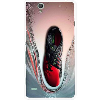 Snooky Printed Water Mobile Back Cover For Sony Xperia C4 - Multicolour