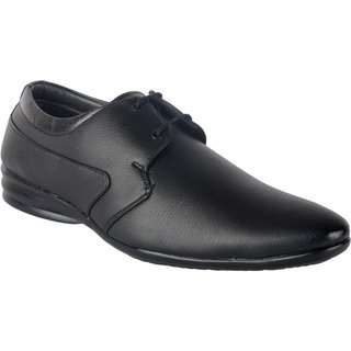 ShoeAdda Classy Formal Shoe Black