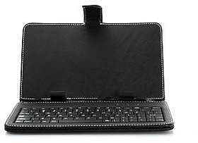 7 Inch Tablet Pouch Cover Usb Keyboard Micromax Funbook, Tablet Pc, Mid, Epad, Apad