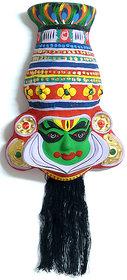 Kerala Traditional kathakali mask made in paper Mech