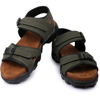 Floxtar Men Olive Causal sandal