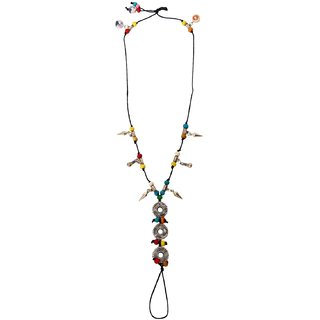 Bijou Vertex Multi Colour Beach Anklet With Assorted Charms