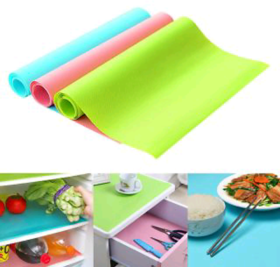 Refrigerator Pad Washable Antibacterial antifouling Mildew Moisture Absorption Table Mat Fridge Magnet Pads