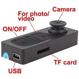 Spy Camera In Button Record Video/Audio