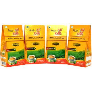 Pack Of 4  All in One Herbal Masala Tea Cardamom