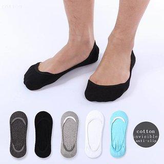Angel homes Men Loafer Socks (Pack of 5)