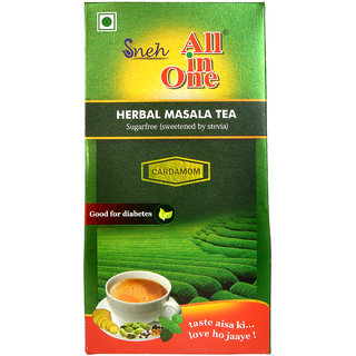 All in One Herbal Masala Tea Sugarfree Cardamom