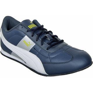 Puma MenS Esito II Blue Casual Sneakers
