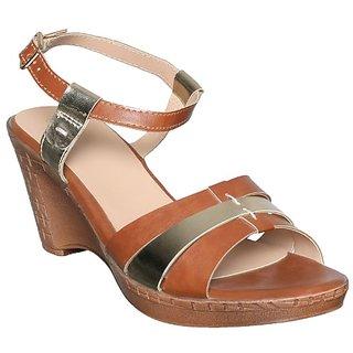 Flora Women's Tan Sandals