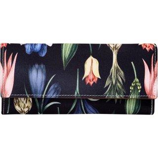 Meia Flowers Fort Vector  Ladies Wallet