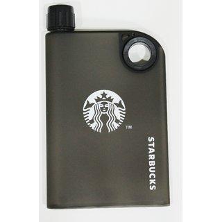 Starbucks A5 Memo Notebook Portable Ultraslim Waterbottle 380 ml, Starbucks Waterbottle, Waterbottle