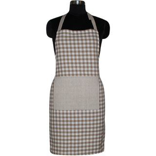 Airwill, 100 Cotton Designer Printed Aprons with Premium Quality with Adjustable Size with the use of Steel Buckle, High Quality Aprons, Wash and Reusable, Use Chef's, Ladies, Gents, Boys, Girls. Cooking Aprons. Size Free 65x80 cm and 1 Centre Pocket S