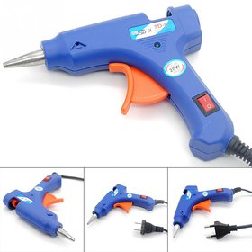 Hot Melt Electric Glue Gun 20 Watts Free 2 Glue Sticks
