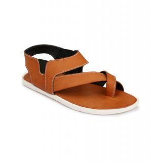 Drake Men's Tan Slip On Sandal
