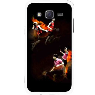 Snooky Printed Sports Player Mobile Back Cover For Samsung Galaxy J5 - Multicolour
