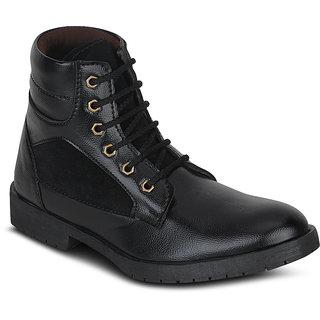 Kielz-Mens-Black-Casual-Boots