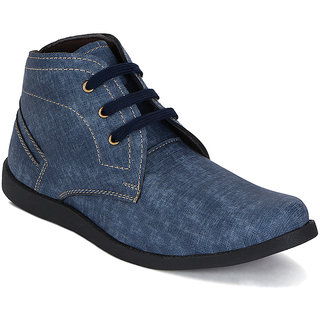 Kielz-Mens-Blue-Casual-Boots