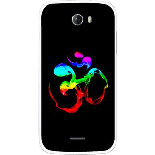 Snooky Printed Om Mobile Back Cover For Micromax Bolt A068 - Multicolour