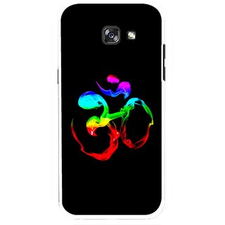 Snooky Printed Om Mobile Back Cover For Samsung Galaxy A5 (2017) - Multicolour