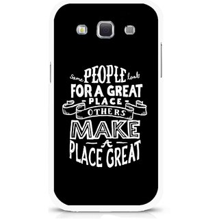 Snooky Printed Personality Attitude Mobile Back Cover For Samsung Galaxy 8552 - Multicolour