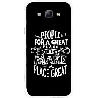 Snooky Printed Personality Attitude Mobile Back Cover For Samsung Galaxy A8 - Multicolour